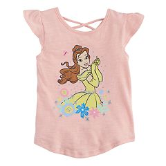 Disney's Beauty & The Beast Toddler Girl Belle Flutter-Sleeved Tee by Jumping Beans®