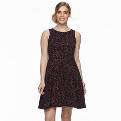 Petite Apt. 9® Jacquard Sleeveless Dress
