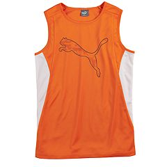 Boys 8-20 PUMA Big Logo Muscle Tee