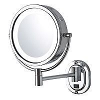 Jerdon LED Lighted Wall Mount Mirror