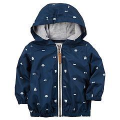Baby Boy Carter's Teddy Hooded Jacket