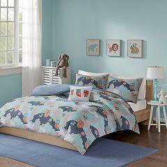 INK+IVY Kids Luna Cotton Printed Comforter Set