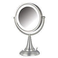 Jerdon Tabletop Two-Sided Swivel Mirror
