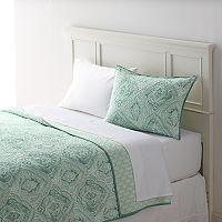 Home Classics® Sarah Watercolor Damask Quilt