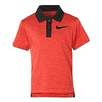 Boys 4-7 Nike Dri-FIT Cross Dyed Heathered Polo