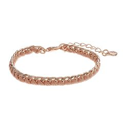 LC Lauren Conrad Braided Link Bracelet