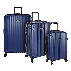 U.S. Traveler Akron 3-Piece Hardside Spinner Luggage Set