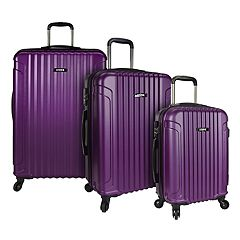 U.S. Traveler Akron 3-Piece Hardside Spinner Luggage Set