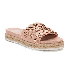 SO® Pompane Women's Slide Sandals