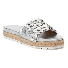 SO® Pompane Women's Slide Sandals