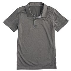 Boys 8-20 PUMA Heathered Peformance Polo