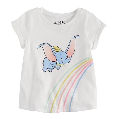 Disney's Dumbo Baby Girl Cuffed Sleeved Tee by Jumping Beans®