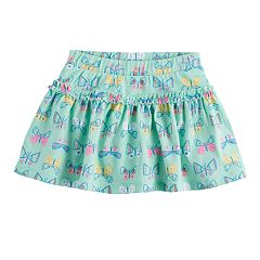 Baby Girl Jumping Beans® Printed Ruffle Scooter