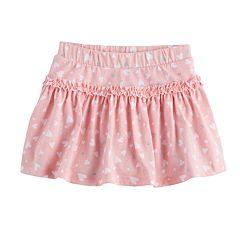 Baby Girl Jumping Beans® Glitter Ruffle Skort