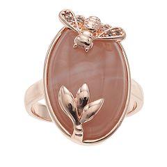 LC Lauren Conrad Bee & Flower Ring