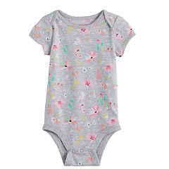 Baby Girl Jumping Beans® Floral Bodysuit