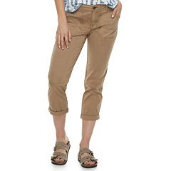 Women's SONOMA Goods for Life™ Cuffed Twill Capris