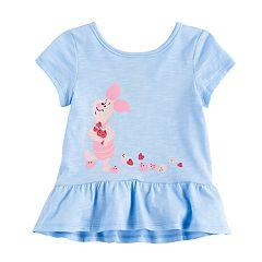 Disney's Piglet Baby Girl Peplum Tee by Jumping Beans®