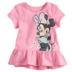 Disney's Minnie Mouse Baby Girl Graphic Peplum-Hem Top by Jumping Beans®