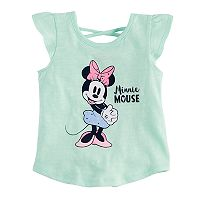 Disney's Minnie Mouse Baby Girl Cross-Back Tee by Jumping Beans®