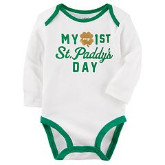 Baby Carter's 'My Very 1st St. Patty's Day' Graphic Bodysuit