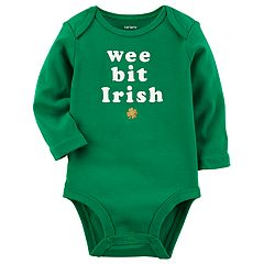 Baby Carter's 'Wee Bit Irish' Graphic Bodysuit