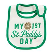 Baby Carter's St. Patrick's Day 'My Very 1st St. Paddy's Day' Bib