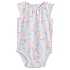 Disney's Minnie Mouse Baby Girl Flutter Sleeve Bodysuit by Jumping Beans®