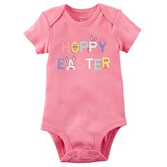 Baby Girl Carter's 'Hoppy Easter' Graphic Bodysuit