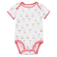 Baby Girl Carter's Bunny Bodysuit