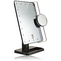 Sharper Image Cordless LED Vanity Mirror & Charging Station