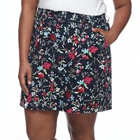 Plus Size Croft & Barrow® Twill Skort