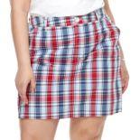 Plus Size Croft & Barrow® Twill Skort
