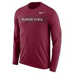 Men's Nike Florida State Seminoles Legend Sideline Long-Sleeve Tee