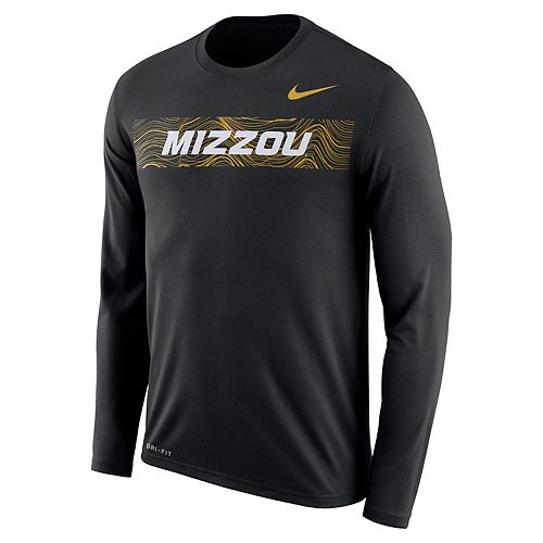 Men's Nike Missouri Tigers Legend Sideline Long-Sleeve Tee