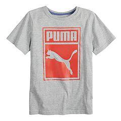 Boys 8-20 PUMA Box Tee