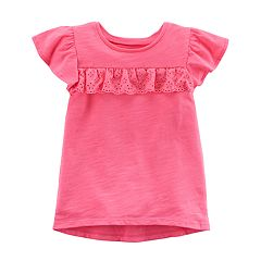 Toddler Girl Carter's Ruffle Hi-Lo Tee