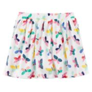 Toddler Girl Carter's Printed Skort