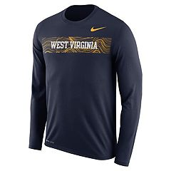 Men's Nike West Virginia Mountaineers Legend Sideline Dri-FIT Graphic Tee