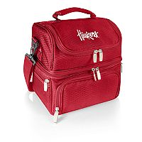 Picnic Time Nebraska Cornhuskers 7-Piece Insulated Cooler Lunch Tote Set