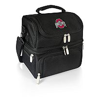 Picnic Time Ohio State Buckeyes 7 pc Insulated Cooler Lunch Tote Set
