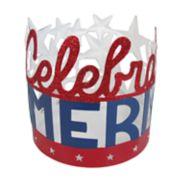 "SONOMA Goods for Life? ""Celebrate"" Patriotic Candle Jar Holder"
