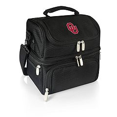 Picnic Time Oklahoma Sooners 7-Piece Insulated Cooler Lunch Tote Set