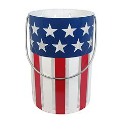 SONOMA Goods for Life™ Patriotic Flag Hurricane Candle Jar Holder