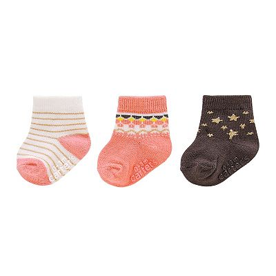 Carter's 3-pk. Heart Socks