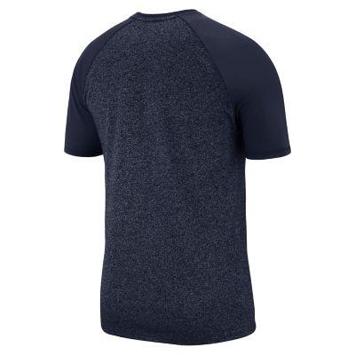 Men's Nike Penn State Nittany Lions Marled Raglan Graphic Tee