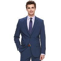 Men's Marc Anthony Slim-Fit Navy Stretch Suit Jacket