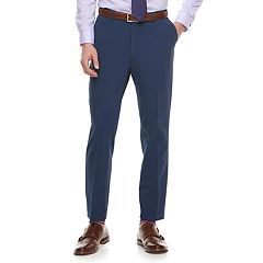 Men's Marc Anthony Slim-Fit Navy Stretch Suit Pants