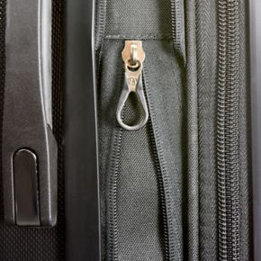 """Traveler's Choice 22"""" Expandable Carry-On Spinner Luggage"""