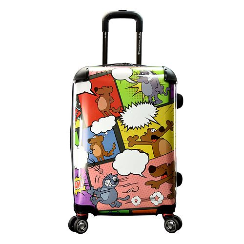 "Traveler's Choice 22"" Expandable Carry-On Spinner Luggage"